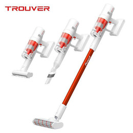 xiaomi youpin TROUVER POWER 11 multifunction mite removal brush wireless handheld vacuum cleaner 20000Pa cyclone suction on Sale