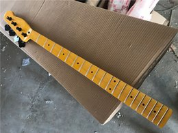 Wholesale fender guitars for sale – custom Yellow Maple Fingerboard Bass Guitar Neck With Tuners Can Offer Many Kinds Of Electric Guitar And Bass Neck