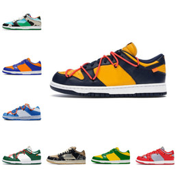 2021 New Fashion Low Dunks comfortable Chunky dunky Varsity Royal Travis scotts platform shoes J-Pack Shadow university red sneakers