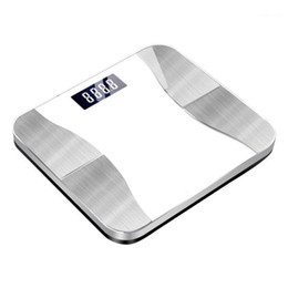 Wholesale With App BMI USB Rechargeable Weight Smart Digital Bluetooth High Load Health Monitoring Bathroom Body Fat Scale 180kg Bone Mass1