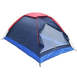 windproof waterproof tents Canada - New Listing-Outdoor Double Camping Tent Single-Layer Beach Tent Outdoor Travel Windproof Waterproof Awning Ultralight1