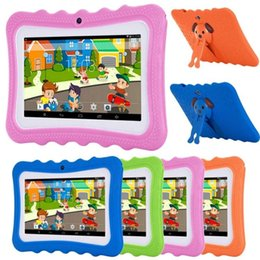 Wholesale hot sell 2021 cheap tablets pc android for kids pc table children android student kids tablet