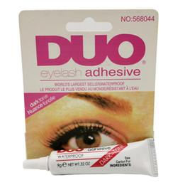 DUO sferza dell'occhio della colla nero adesivo di trucco impermeabile Ciglia finte Colle Colla Bianco e nero Disponibile DHL in Offerta