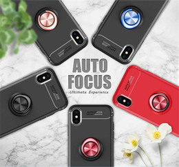 coque silicone iphone 5s 2021 - Coque Silicone Case For iPhone 12 Mini 11 Pro XS Max X XR 8 7 6 6S Plus 5 5s SE 2020 SE2 Magnetic Bracket Car Phone Stand Cover