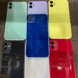 Carcasa de cubierta posterior para iPhone XR como 12 / Me gusta 11 Reemplazo de la cubierta de la cubierta de la batería de la batería del metal de aluminio en venta
