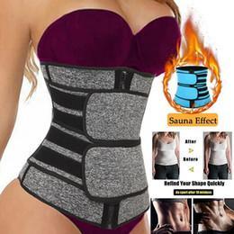US Stock Waist Trainer Women Slimming Sheath Tummy Reducing Shapewear Belly Shapers Sweat Body Shaper Sauna Corset Workout Trimmer Belts