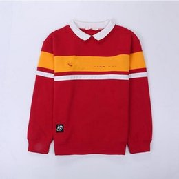 Wholesale h p for sale - Group buy Hot sale Fashion H P Hoodies Colors Letter Printedr Ravenclaw Hufflepuff Slytherin Embroidery O Neck Sweatshirt Pullover LJJO7100