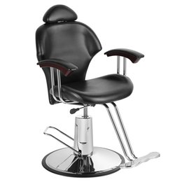 modern leather living room furniture UK - Stock in UK Reclining Leather Barber Chair Shampoo Hairdressing Salon for dropshipping