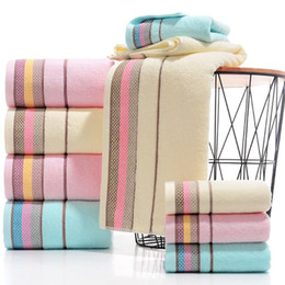 Discount quick drying towels 100% Cotton Soft Bathroom Towel High Functional Absorbent Washcloths Face Hand Beach Bath Towel Travel Gem Quick Dry Tow