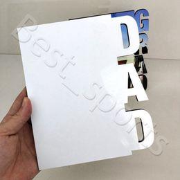 Пустые сублимационные рамки Деревянная термопередача фаз тарелка папа Персонализированные подарочные рамки День отца фестиваль CYZ2977 на Распродаже