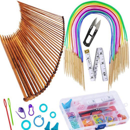 1 Set Sweater Needle Set 15cm Long Sweater Needle 80cm Ring Pin Accessory Set Diy Tools For Knitting An jllVDr on Sale