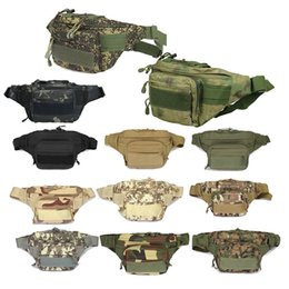 fanny packs Canada - Outdoor Sports Hiking Versipack Running Waistpack Tactical Camouflage Waist Bag Fanny Pack P11-402