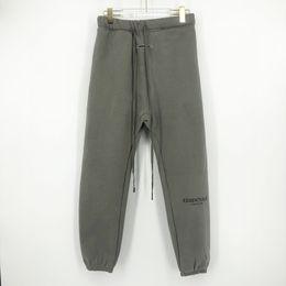 Wholesale women sweatpants for sale – dress Autumn Winter USA Fear Of God Essentials th M Reflective Embroidery Trousers Casual Fog Sweatpants Men Women Jogger Pants