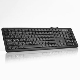 russian laptop computers 2020 - 108keys USB Wired Gaming Keyboard Combo Russian Keyboard For Lenovo Asus Laptop Computer cheap russian laptop computers