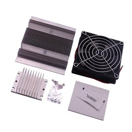 Wholesale DIY Thermoelectric Refrigeration Semiconductor Cooling System Cooler Fan Kit Set