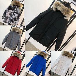 Wholesale canada man down jacket for sale – warmest winter 2020 Top New Men Casual Down Jacket Down Coats Mens moose Outdoor Warm Man Winter Coat Outwear Jackets Parkas canada knuckles Doudoune