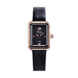 Binda brand 2021 New Fashion Quartz Watch ladies Casual Leather Watches High Quality Luxury Dress Wristwatches free shipping Hot selling