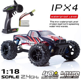 9300 RC Car Toy 1:18 2.4Ghz Radio 4WD Terrain Electric Remote Control Off Road Truck IPX4 Waterproof Fast 30+ MPH RC Vehicle