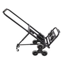 Wholesale New Portable Stair Climbing Folding Cart 330 LBS Capacity Hand Truck Dolly Black