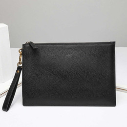 Wholesale nude women animals resale online - Men clutch bags women toiletry pouch purses fashion snake bee wallets handbags Animal card holder Purse genuine leather zipper clutch bag
