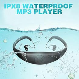 Wholesale Tayogo Bluetooth 100% Waterproof Music Player headphone Underwater HIFI Sports bluetooth with FM Pedo Meter for Swimming LJ201016