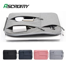 samsung laptop notebooks Australia - 15.6 16 13.3 inch Multi-function Laptop Bag For MacBook Lenovo Xiaomi Samsung Huawei Waterproof Notebook Zipper Box Case Sleeve 201102