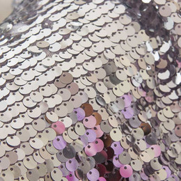 We have large,medium and small sequins.Sequin embroidery-exquisite workmanship,elegant taste,novel design,dazzling,with special natural on Sale