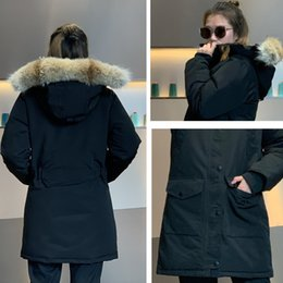 Wholesale parka woman natural fur hooded for sale - Group buy Women s Winter Down Parka waterproof Outerwear Big real wolf Fur Hooded women fashion Down Coat Winter Jacket of gril warm for women