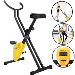 Wholesale US STOCK Areyourshop Fitness Indoor Cycling Bikes Exercise Bike Workout Health Portable Upright Calories Burned Sports equipment Accessories Parts
