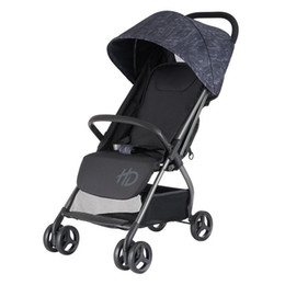 portable umbrella strollers UK - Baby Stroller Portable Foldable Baby Children Hand Push Umbrella Car Gray