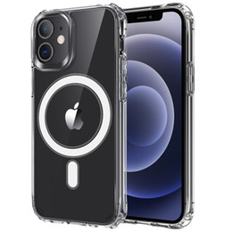 support air iphone UK - Wholesale high quality new air bag four corner anti-fall magnetic ring for iphone 12 pro max mobile phone case Support for wirel