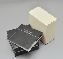 luxury Men shirt Cufflinks Box with logo unique design jewelry Cuff links gift box Perfect match for Cufflinks box on Sale
