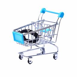 venda por atacado Criativo Mini Crianças Handcart Simulação Pássaro Pássaro Papagaio Hamster Brinquedo Pequeno Supermercado Carrinho de Compras Play House Brinquedos GWF4460