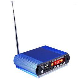 & MP4 Players MP3 Decoder Board Audio Module FM Radio Bluetooth Wireless Music Car Player With Remote Control Auto Decoding Aluminum1 on Sale