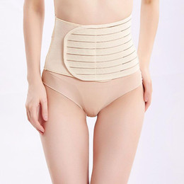 postpartum support girdle belt UK - Shapewear Postpartum Abdomen Strap Belly Band Belt Toning Back Support Belts Waist Abdomen Girdle For Pregnant Women Breathable