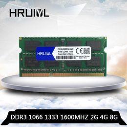 Wholesale HRUIYL Ram 2gb 4gb 8gb DDR3 1066 1333 1600 1066mhz 1333mhz 1600mhz DDR3L DDR3 4GB 4G 8G Memory Ram Memoria sdram Laptop Notebook1