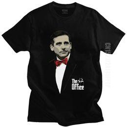 Wholesale the office shirts online – The Office Godfather Michael Scott Men T Shirt Tv Series Dwight Schrute Jim Halpert Dunder Tee O Neck T Shirt Cotton Top Classic