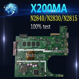 asus motherboard lga 2021 - Amazoon X200MA Laptop motherboard For Asus X200MA F200M F200MA Test original motherboard 4G-RAM N2840 N2830 N2815 cheap