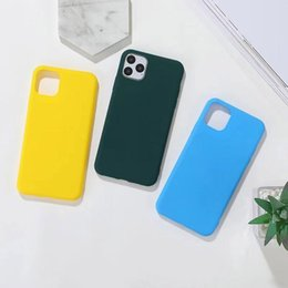 iphone xr cases Canada - TPU Soft Phone Case For iPhone 11 Pro Max XS XR XS MAX 6 7 8 Plus Multi Colors Frosted Back Cover