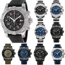 Nowe Moda Mężczyźni Damskie Damskie Designer Mens Diamond Super Avenger II 1884 Kwarcowy Ruch Wristwatch Watch Watches