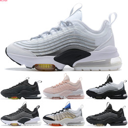 Discount mens rainbow sneakers 2020 Womens Mens Cushions Running Shoes ZM 950 Triple White Colorful Black Japan Volt Neon Rainbow Sport Trainers Sneakers