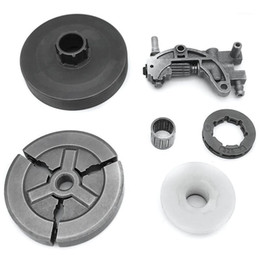 Electric Saws Clutch Sprocket Rim Drum For Chinese 4500 5200 5800 45Cc 52Cc 58Cc Oil Pump Worm Gear Bearing Kit Chainsaw1 on Sale