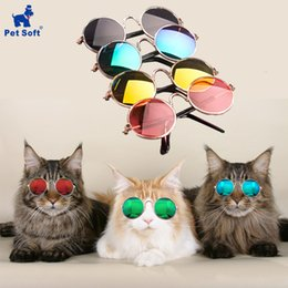 sunglasses for dogs UK - Glasses Soft Little Color Pet Random Cat For Dog Sunglasses Photos Eye-wear Products Rbcjx