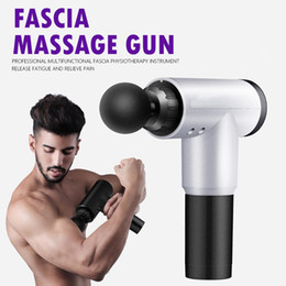 Wholesale Fascia Massage Gun Muscle Pain Relief Therapy Massager Relaxation Body Slimming High Frequency Portable Device