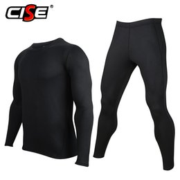 Wholesale ski fleece tops resale online – Men S Motorcycle Underwear Winter Fleece Thermal Base Layer Set Ski Snowboard Warm Shirts Top Bottom Compression Suit Long Johns