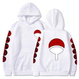 Wholesale anime womens hoodies for sale - Group buy Uchiha Clan Sharingan Hoodies Mens Womens Hoodie Sweatshirts Long Sleeve Casual Hooded Male Female Pullovers Japanese Anime