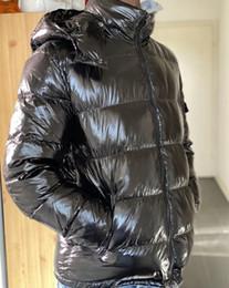 Wholesale men down feather jacket resale online – Mens Jacket down jacket Classic Casual winter Jacket Coats Mens Outdoor Warm Feather Winter Keep warm Doudoune Homme Unisex Coat Outwear