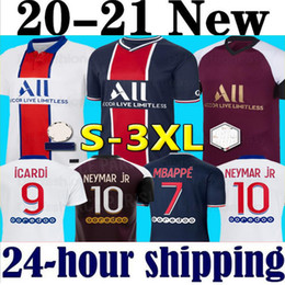 Wholesale neymar shorts resale online – Maillots de football kits soccer jersey MBAPPE ICARDI NEYMAR shirt JR men kids sets uniform maillot de foot hommes enfants