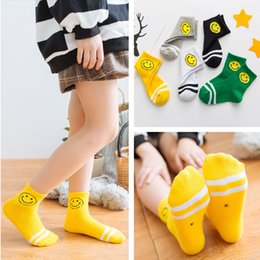 Wholesale sock girl face for sale - Group buy Children s autumn and winter girls smiling face children years old baby cotton Children s socks kids sockscotton socks kids socksso