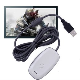 Factory direct sales for XBOX360 PC receiver for XBOX360 wireless handle receiver nude free shipping on Sale